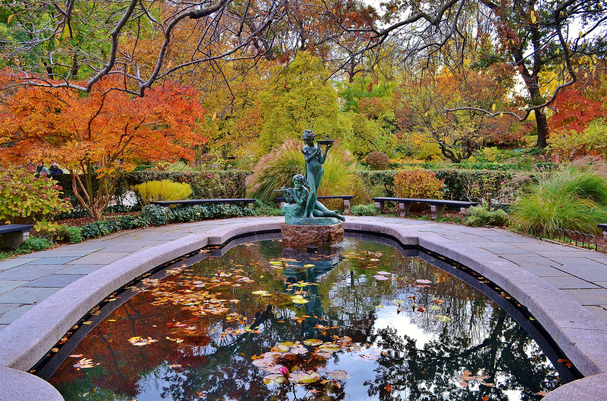 Autumn In Central Park New York City Central Park New